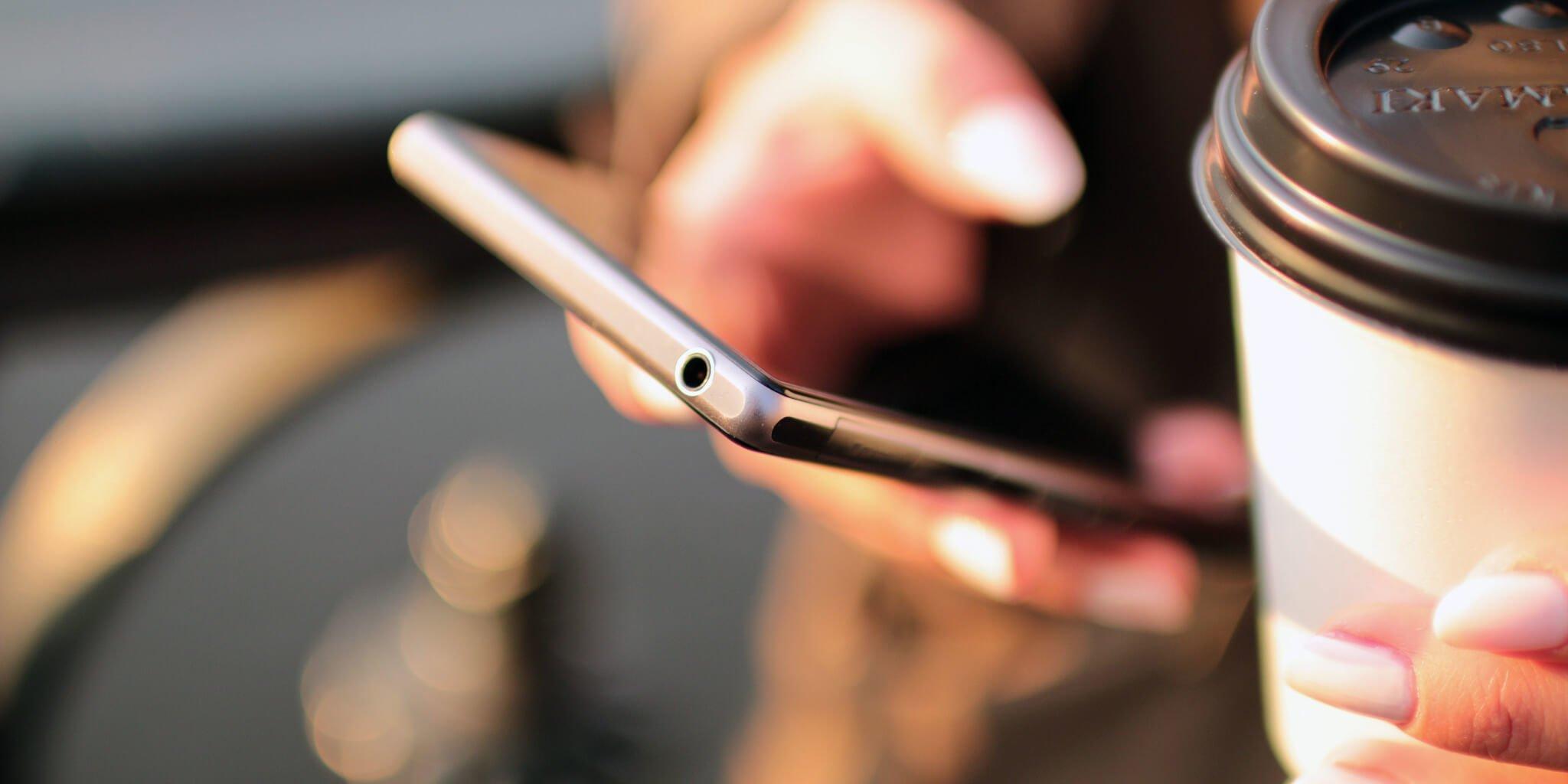 interação mobile first