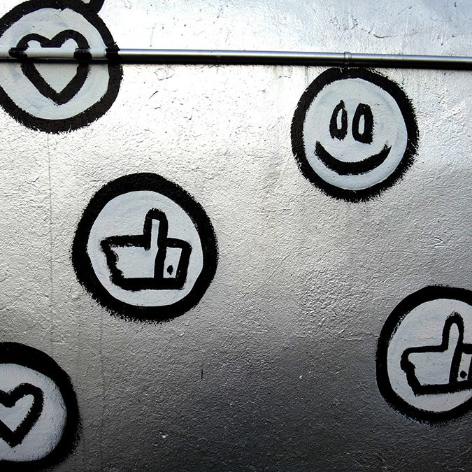 monitorização de social media